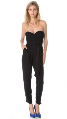 Strapless jumpsuit by Catherine Malandrino at Shopbop