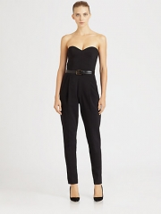 Strapless jumpsuit by Michael Kors at Saks Fifth Avenue
