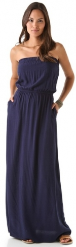 Strapless maxi dress by Splendid at Shopbop