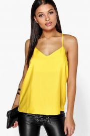 Strappy Cami at Boohoo