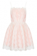 Strappy lace prom dress at Topshop at Topshop