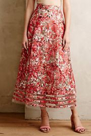 Strawberry Hill Skirt at Anthropologie