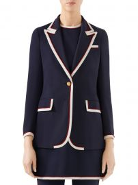 Stretch Viscose Jacket at Saks Fifth Avenue