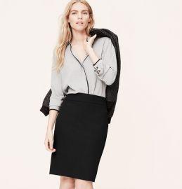 Stretch Pencil Skirt at Loft