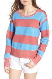 Stripe Crewneck Sweatshirt by Frank  Eileen Tee Lab at Nordstrom Rack