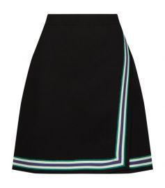 Stripe Knitted Mini Skirt at Harrods