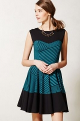Stripe Swing Dress at Anthropologie