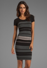 Stripe dress by James Perse at Revolve