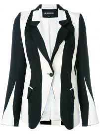 Striped Blazer by Ann Demeulemeester  at Farfetch