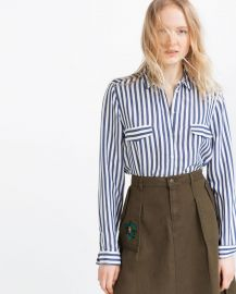 Striped Blouse at Zara