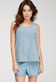 Striped Cotton Tank Top  Forever 21 - 2000082185 at Forever 21
