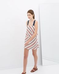 Striped Dress at Zara