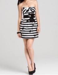 Striped Dress by Bcbgmaxazria at eBay
