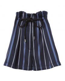 Striped Paperbag Waist Shorts at Intermix