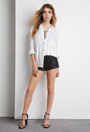 Striped Pocket Shirt  Forever 21 - 2000142174 at Forever 21