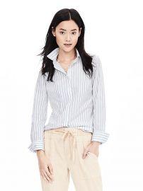 Striped Shirt at Banana Republic