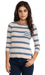 Striped Sweater by Autumn Cashmere at Revolve