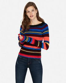 Striped Sweater at Express