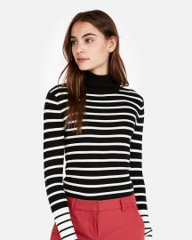 Striped Turtleneck at Express