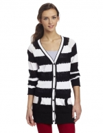 Striped cardigan by Fox Juniors at Amazon