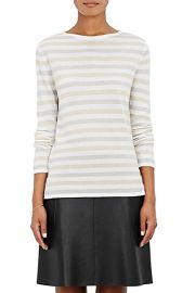 Striped cashmere sweater at Barneys