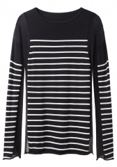 Striped cotton top by T by Alexander Wang at La Garconne