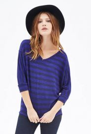 Striped dolman tee at Forever 21
