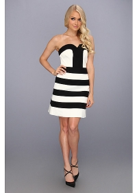 Striped dress by Laundry by Shelli Segal at Zappos