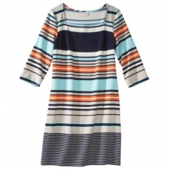 Striped dress by Merona at Target