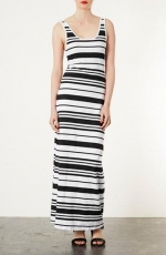 Striped maxi dress by Topshop at Nordstrom
