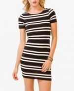 Striped mini dress at Forever 21 at Forever 21