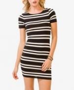 Striped mini dress at Forever 21 at Forever 21