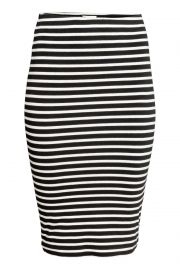 Striped pencil skirt at H&M