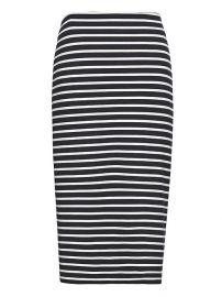 Striped pencil skirt at Banana Republic