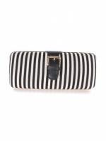 Striped purse clutch at Kitson at Kitson