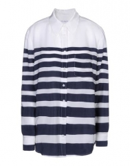 Striped shirt by Equipment at Yoox