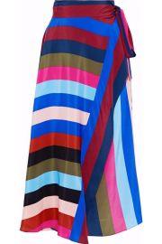 Striped skirt by Diane von Furstenberg at The Outnet