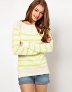 Striped sweater from ASOS at Asos