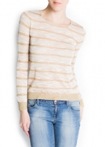 Striped sweater like Tessas at Mango
