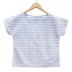 Striped tee at Me and Arrow