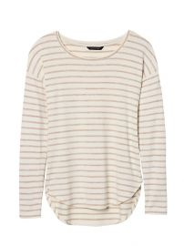 Striped tee at Banana Republic
