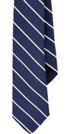 Striped tie at Barneys Warehouse