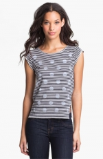 Stripes and spot top by Marc Jacobs at Nordstrom