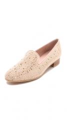 Stuart Weitzman Slipbeads Studded Loafers at Shopbop