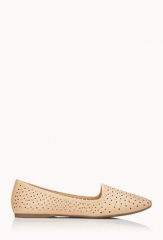 Studded Loafers at Forever 21