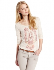 Studded Owl Tee by Lucky Brand at Amazon