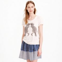 Studded Parrot Tee at J. Crew