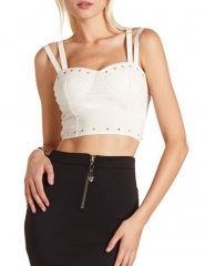 Studded bustier at Charlotte Russe