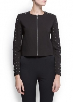 Studded jacket like Georginas at Mango