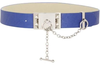 Studded toggle belt at Bcbg